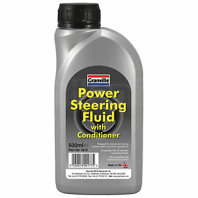 Carlube Synthetic Oil Based Power Steering Hydraulic Fluid Red 500ml