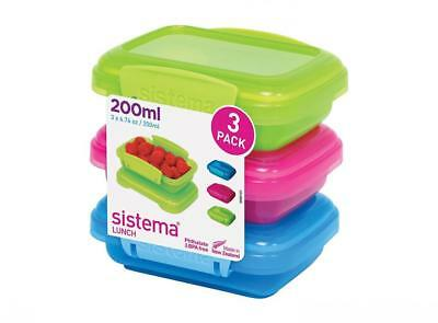 Sistema 1524 lunch box - boxes (Container, Blue, Green, Pink, Square)