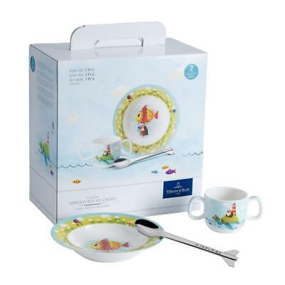 Villeroy & Boch Chewy Around the World Set Bebè, 3 Pezzi, Premium...