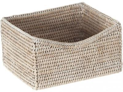 Kouboo Jolla rattan Organizing and Shelf basket, honey-brown P, Rattan e...