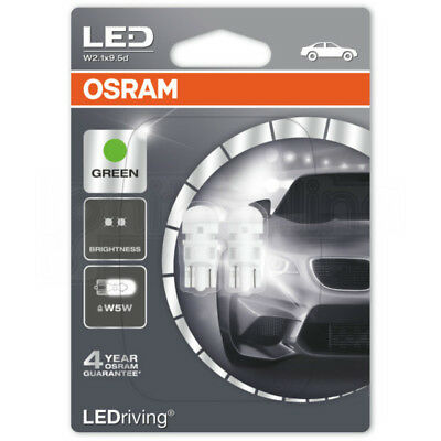 OSRAM LED Warm White 233 24V T4W 249 Number Plate Festoon Interior Retrofit Bulb