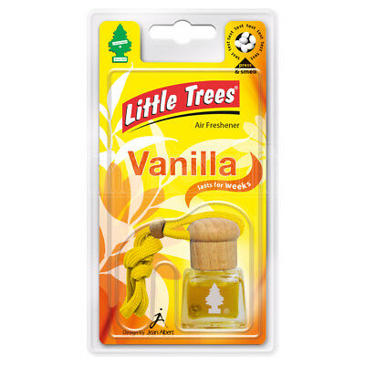 Little Trees Air Freshener Bottle Vanilla 4.5ml Mirror Hanging Scent Aroma Odour
