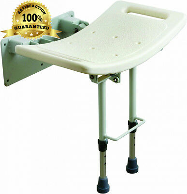 Drive DeVilbiss Healthcare Wall Mounted Shower Seat with Adjustable Height...