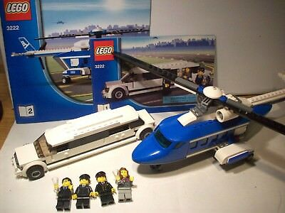 New Sealed Retired Lego City Helicopter And Limousine 3222 6000