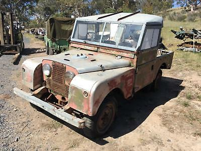 Land Rover Series 1 86 inch SWB from Australia For Restoration