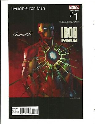Invincible Iron Man # 1 (Hip Hop Variant Cover, Dec 2015), Nm New