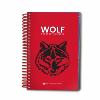 The Official Boy Scout of America Wolf Cub Scout Coil Handbook 2018 New