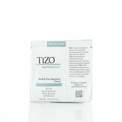 TIZO Age Defying Fusion Body & Face Sunscreen Tinted SPF 40 10x0.05oz/1.5g