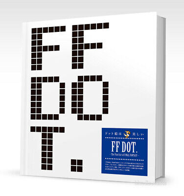 DHL) FF DOT The Pixel Art of FINAL FANTASY Japan Square Enix Game Hardcover Book