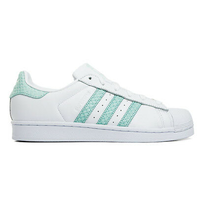 superstar adidas verde acqua