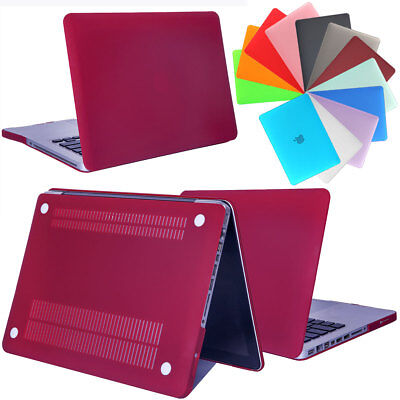 For Macbook Pro13 15 A1286 A1278 Slim Frosted Rugged Shockproof Shell Cover Case
