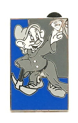 NEW Disney Disneyland 60th Diamond Mystery Puzzle Pin - Dopey (Chaser) LE 300