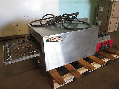 """Q-MATIC"" COMMERCIAL H.D. 1Ph ELECTRIC CONVEYOR PIZZA OVEN w/DIGITAL CONTROLS"