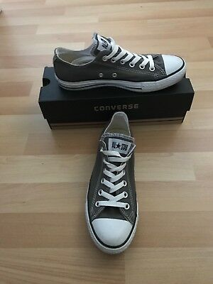 Converse Grey Classic Chuck Taylor Womens Men's Unisex Trainers Low Tops