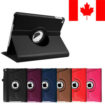 Leather Stand iPad Case Cover for iPad 2 3 4 Mini 2 3 4 Air 2 Pro 9.7 10.5 12.9
