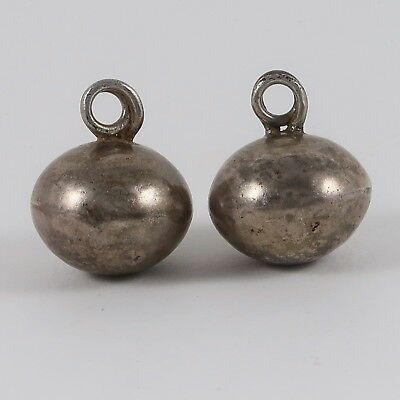Antique Silver Bells from India #2