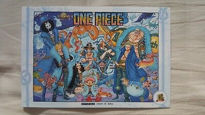 One Piece 20th Anniversary Special Illustration Not For Sale RARE Luffy Zoro