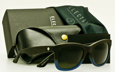 e204a32f5fb ELECTRIC DETROIT XL SUNGLASSES Matte Blue Tortoise Fade-OHM Grey  AUTHENTIC
