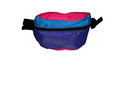 Fanny pack ,waist bags 1 size fit's all durable Pink/Purple/black Made in U.S.A.