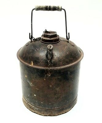 Antique Railroad Oil Can Marked EAGLE