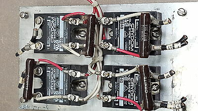 "Set of 4 Crydom A4840 Solid State Relay input 90-280V output 480V~40A  9""x 5"" HS"