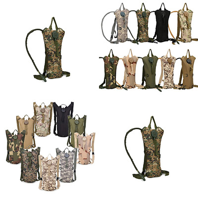 Hydration Packs 3L Water Bladder Camping Hiking System Backpack Camelback Outdoo