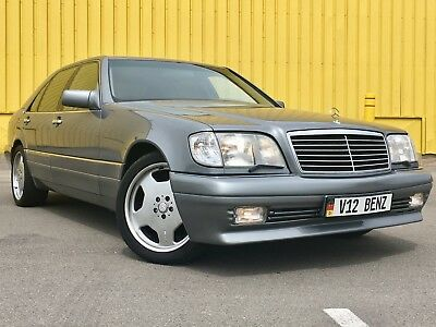 "1992 Mercedes-Benz 600-Series 600SEL 1992 Mercedes 600SEL V12 W140 Executive Package 19"" AMG Wheels LORINSER Exhaust"