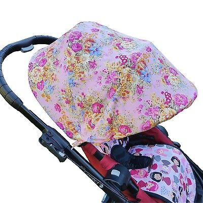 Pram Hood Sunshade Canopy Cover for Baby Jogger - Boy Fabric Collection