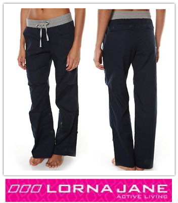 LORNA JANE Flashdance Full Lengh Pants - Running Gym Yoga Active Wear - BNWT