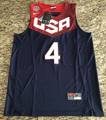 537f2c232141 Nike NWT USA Basketball Dream Team Stephen Curry  4 Steph Mens Jersey NBA  Size M