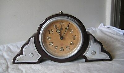 Nice Brown Bakelite Alarm Clock from SMI