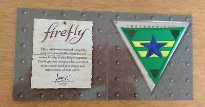 Firefly Serenity Independents Patch Qmx Exclusive Loot Crate Jan 2018