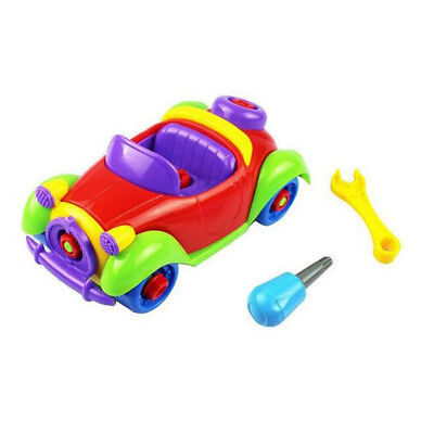 Christmas Gift Kids Baby Child Boy Disassembly Assembly Classic car Toy N7W2