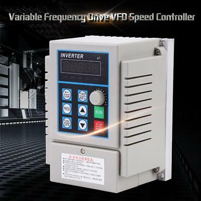 High Precision Variable Frequency Drive VFD Inverter Single Phase PWM Control UK