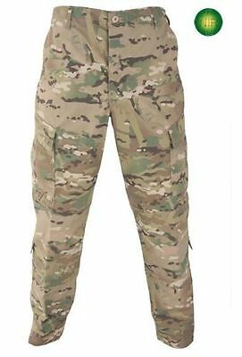 US Army Multicam FR ACU Defender OCP Hose Tarnhose USA LS Large Short