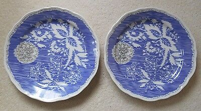 Rosenthal 'Blue Style' Side Plate/Shallow Bowl x 2