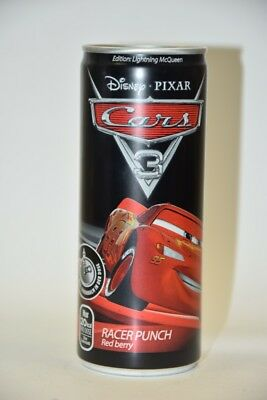 Red Berry Racer Punch McQueen CARS Dose 0,25 l Neu Voll  limited edition