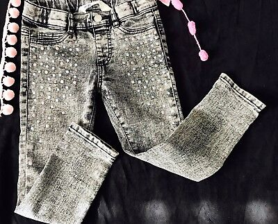 H&m denim Jeans Pants Girl  Size 2/3 Years Toddler  Stretch Fit Zara