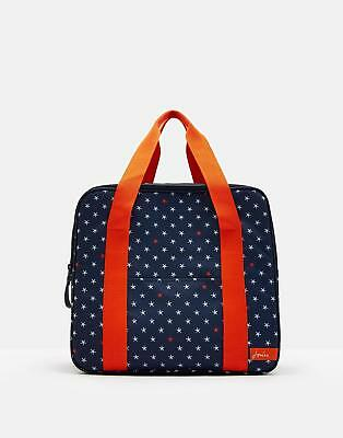 Joules Coolbag Large Lined Cool Bag With Duel Zip Detai in Star Fish in One Size