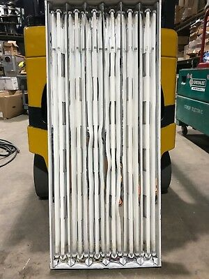 Used Fluorescent High Bay 6 Lamp T5 54 Watt bulbs 120,208,240,277 Volt Light