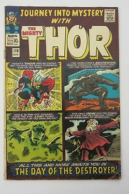 Journey Into Mystery Annual #1 - Mighty Thor - 1st app. Warriors Three - Marvel