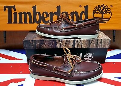 """timberland Classic Vela 2 Eye"" Made Usa Vintage Anni 80 N.40 It-7 Us (Paninaro)"