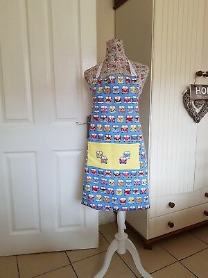 hand made reversible campervan apron