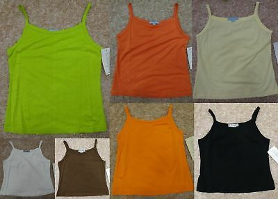 BOUTIQUE CLEARANCE LOT of 26 GIRL'S SPAGHETTI STRAP TANK TOPS SIZE 5-14 RESALE