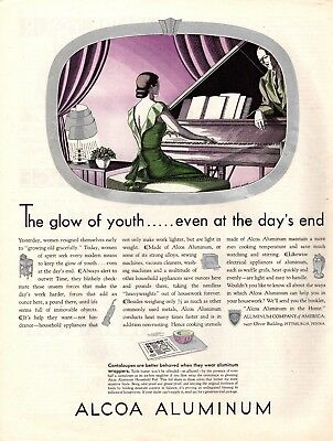 1932 Magazine Ad Alcoa Aluminum Advertisment  A181