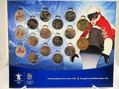 RBC The 2010 Vancouver Olympics Circulation Coins, Royal Canadian Mint