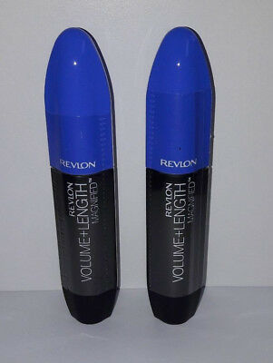 2 x Revlon Volume + Length Magnified Mascara 301 Blackest Black 8,5 ml NEU