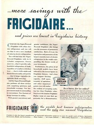 1932 Magazine Ad Frigidaire Advertisment  A188