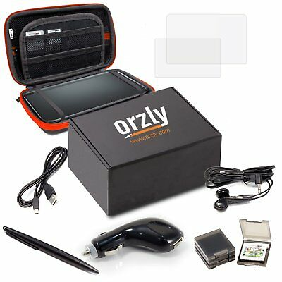 3DSXL Accessories, Orzly Ultimate Starter Pack for 3DS XL or New Nintendo 3DS XL
