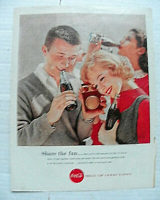 """1957,sept. Boy's Life Mag. """"share The Fun..."""" Couple Listening To Portable Radio"""